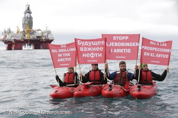 Acción Petrolera Ártico Noruega